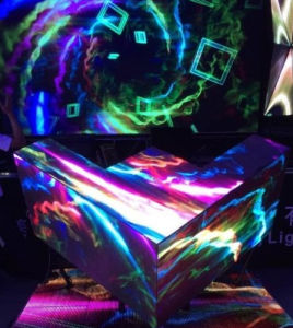 Cool Custom Creative Bomber Shape LED Display DJ Stage Screen pictures & photos