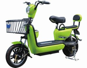 Two Seat 48V Electric Bike pictures & photos