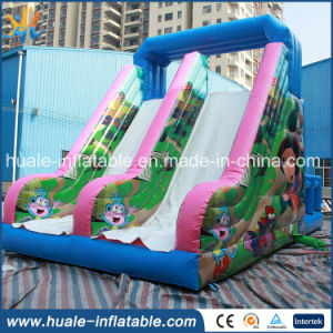 Hot Sale Kids Toysinflatable Rock Climbing Wall with Inflatable Slide for Sale pictures & photos
