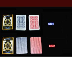 100% PVC Playing Cards for Casino/Plastic Poker Playing Cards pictures & photos