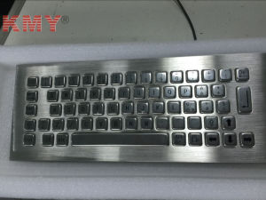 Best Waterproof Metallic Keyboard with Trackball (KMY299D-345) pictures & photos