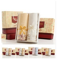 100% Cotton Advertising Gift Towel Customized Hair Towel pictures & photos