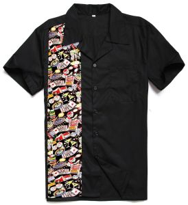 Cotton Short Sleeve Latest Shirt Designs for Men 2017 Casino Printed Work Shirts pictures & photos
