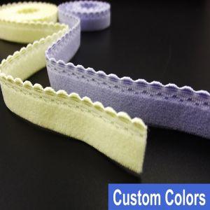 Wholesale No Minimum Bra Elastic Webbing Tape Accessories pictures & photos