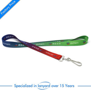 Hot Sale Dye Sublimation Printed Lanyards with Safety Lock pictures & photos