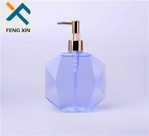 250ml Clear Plastic Hand Soap Bottle with Lotion Pump pictures & photos