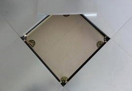 High Quality HPL/PVC Calcium Sulfate Panel Access Flooring Tiles pictures & photos