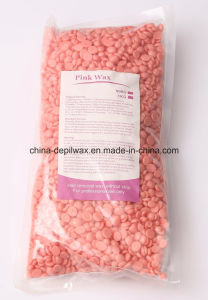 Depilatory Wax Pink Sensitive Hard Wax Pellets of Painless Waxing pictures & photos