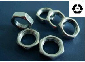 DIN439 Stainless Steel Hex Thin Nut pictures & photos