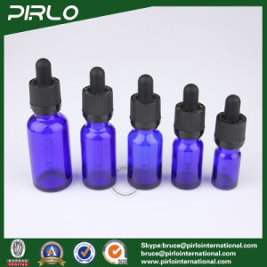 20ml 30ml 50ml 100ml Cobalt Blue Essential Oil Glass Bottles E-Liquidr pictures & photos
