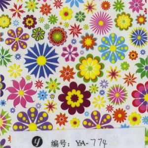 Tsautop 0.5/1m Width Flower Hydro Dipping Film Water Transfer Film pictures & photos