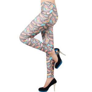 Candy Print Seamless Fashion Leggings pictures & photos