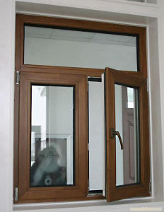 High Quality Double Tempered Glass Casement Window Manufacturer pictures & photos