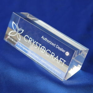 Customize Clear Office Gift Crystal Trophy pictures & photos