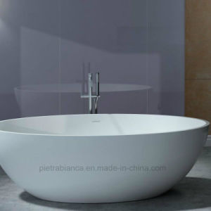 High Quality Cheap Price Aritificial Stone Freestanding Bathtub (PB1056N) pictures & photos