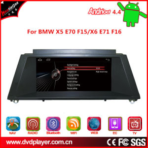 Hl-8825GB Car GPS Android 4.4 for BMW X5/X6 Touch Screen Car Stereo OBD DAB pictures & photos