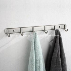 Bathroom Accessories Wall Mounted Stainless Steel 304 Toilet Robe Hook for Bathroom pictures & photos