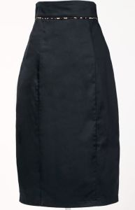 Party Wear Women Sexy Pleated MID Pencil Skirt Maxi Size pictures & photos