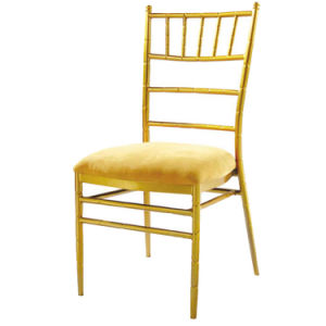 Salable Metal Banquet Bamboo Dining Chair for Rastaurant pictures & photos