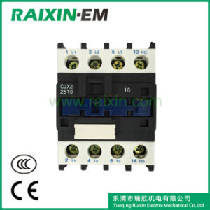 Raixin Cjx2-2510 AC Contactor 24V AC 3p AC-3 380V 11kw Magnetic Contactor pictures & photos