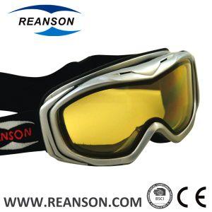 Reanson Professional Anti-Fog 100% UV Cut Double Lenses Snowboard Goggles pictures & photos