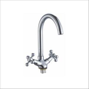Nice Design Double Handle Kitchen Mixer&Faucet Jv74205 pictures & photos