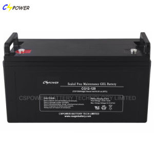 Excellent 12V120ah Solar Panel/Deep Cycle Gel Battery for UPS System pictures & photos