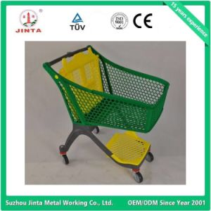 New Designed Pure Plastic Shopping Cart pictures & photos