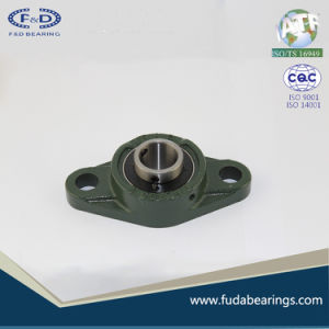 UCFL205 Chrome Steel Grey Cast Iron Housing Pillow Block Bearing for Agricultural Machinery pictures & photos