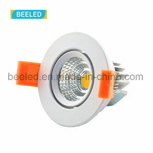 Specular 3W Dimmable Recessed Pure White Project Commercial LED Downlight