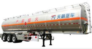 50 Cbm Fuel Semi Trailer Liquid Tank pictures & photos