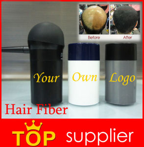 Private Label Hair Building Fibers in Keratin Offer 18 Colors