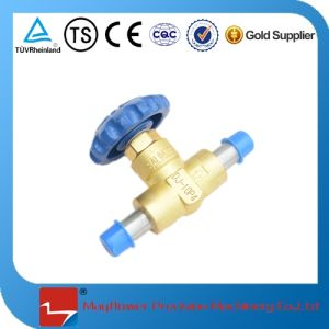 LNG Brass Dn10 Short Stem Cryogenic Valve pictures & photos