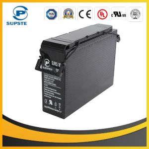 2016 Rechargeable UPS 12V 125ah Front Terminal Battery for UPS pictures & photos