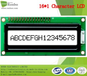 16X1 Character LCD Screen, MCU 8bit, FSTN/Gray LCD Panel, COB LCM pictures & photos
