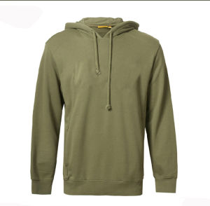 Custom Fashion Men 100%Cotton Fleece Pullover Hoodies pictures & photos