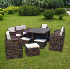 Comfortable Hand-Weaving Outdoor Table and Chair Furniture pictures & photos