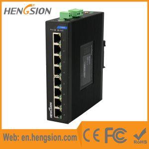 8 Megabit T (X) Fast Ethernet Ports Industrial Network Switch