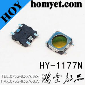 Manufacturing Ultra Thin Micro Switch SMD Type Tact Switch pictures & photos