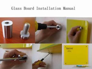 School Magnetic Interactive Memo Glass Writing Whiteboard pictures & photos