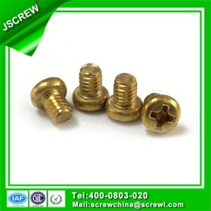 Phillips Pan Head Fastener 4mm Brass Screw pictures & photos
