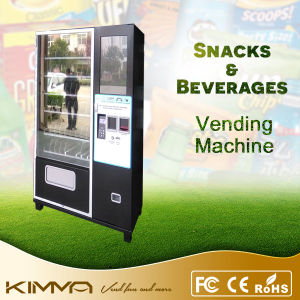 Coin Operated Touch Screen Vending Machine for Canned Food and Drinks pictures & photos