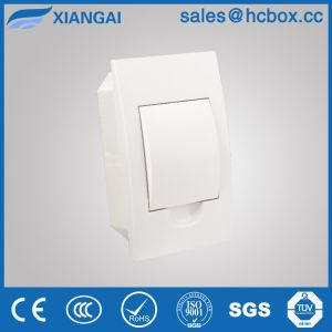 Plastic Distribution Box Distribution Board Switch Box Hc-Tfw 4ways White Color pictures & photos