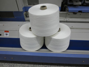 100% Spun Polyester Viscose Yarn pictures & photos