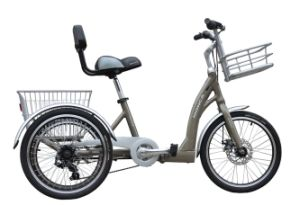 2017 Perfect Design Folding Electric Tricycle Hot Hot Selling Electric Folding Trike Foldable Bike From Hangzhou Monca pictures & photos