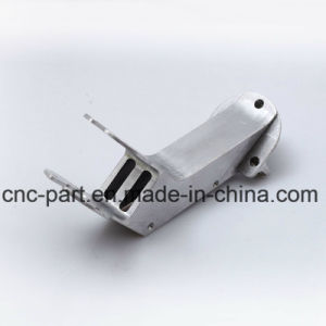 Blue Anodized CNC Machined Brush with Screw Parts for Automobile pictures & photos