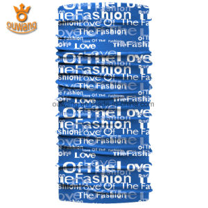 Outdoor Sports Multifunctional Custom Printed Microfiber Polyester Scarf pictures & photos