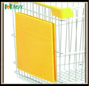 Shopping Trolley Front Advertising Plate Board Plastic Parts pictures & photos