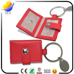 2017 Best Sell and Can Be Customized Shape Leather Metal Key Chain pictures & photos