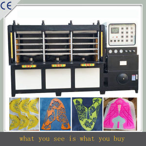 Hot Pressing Machine for Kpu/PU Shoes Upper Surface Cover pictures & photos